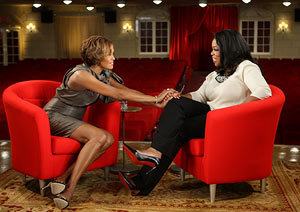 oprah & whitney houston